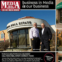 Page spread: Media Real Estate bringing businesses to Media, PA